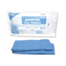 Dukal OR Towel Sterile Blue Pk4