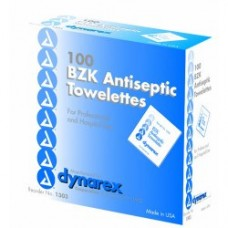 Dynarex BZK Towelette Ca1000