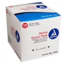 Dynarex 3342 Sterile Gauze Sponge 4x4 8-ply, 2's Pk50