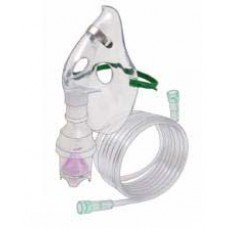 Dynarex Opti-Mist II Nebulizer Kit Adult Aerosol Mask Elongated ''T'' Pc Mouth- Ca50