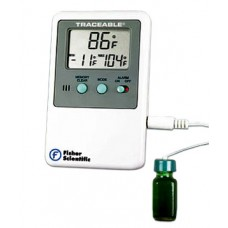 Fisher Scientific Traceable Refrigerator Freezer Alarm Thermometer