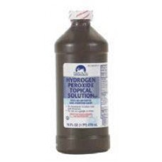 Hydrogen Peroxide 3%- 8oz. Bottle