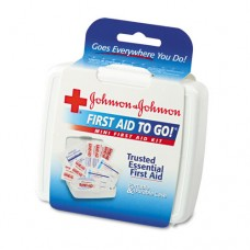 Mini First Aid to Go Kit, Plastic Case
