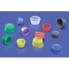 Kendall Ezee Topper Tube Caps Yellow-Pack 1 000