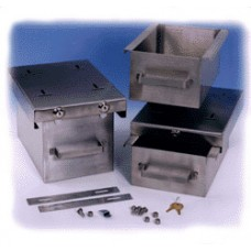 Medi Dose Cold-Safe Storage .75'' Stainless Bx4 *In Stock Special*