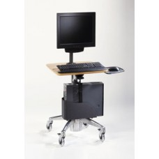 Midmark 6202 Care Exchange Flat Panel PC Computer Cart