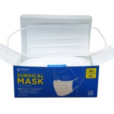 Griffin Care Surgical Face Mask with Ear Loops, ASTM Rated Level 3, Bx50
