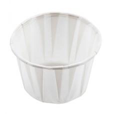 Dynarex 4242 Paper Souffle Cup - .75oz - Bx250
