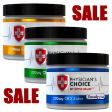 Physicians Choice CBD Essential Oil Salve, 2 oz, 250 CBD mg