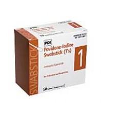 PDI PVP Iodine Prep Swabstick Singles Bx50
