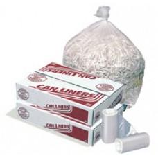 Pitt Plastics Regular Strenth Trash Liners - 24x33 - 6 mic - Ca1000