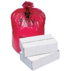 Pitt Plastics Red Isolation Bag - 30x36 - 1.2mil - Ca100