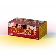 Quidel QuickVue Dipstick Strep A test - Bx25 *R*