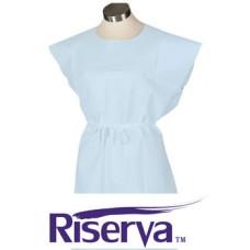 Riserva Patient Gown - 30in x 42in - Blue - Ca50