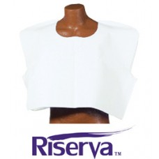 Riserva Exam Cape - 30in x 21in - 3ply - White - Ca100