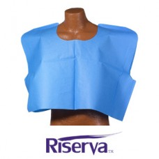 Riserva Exam Cape - 30in x 21in - 3-Ply - Blue - Ca100