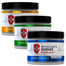 Physicians Choice CBD Essential Oil Salve, 2 oz, 250 CBD mg