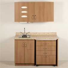 Midmark Synthesis Exam Room Casework Package E3