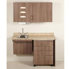 Midmark Synthesis Exam Room Casework Package E5