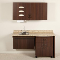 Midmark Synthesis Exam Room ADA Casework Package E7