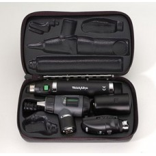 Welch Allyn Diagnostic Set with Standard Ophthalmoscope, MacroView Otoscope, Rechargeable Handle and Hard Case