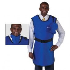 Wolf Coat X-Ray Protective Apron with Attached Thyroid Collar