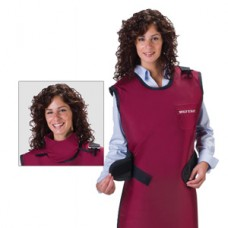 Wolf Easy Wrap Apron with Attached Thyroid Collar Lead Free